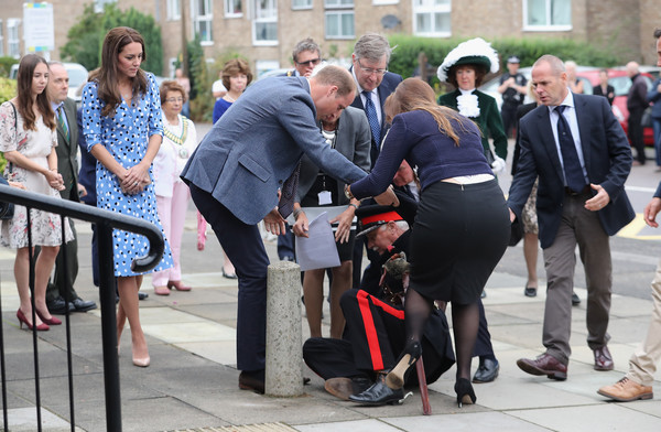 The Duke & Duchess Of Cambridge Visits Stewards Academy With Heads Together