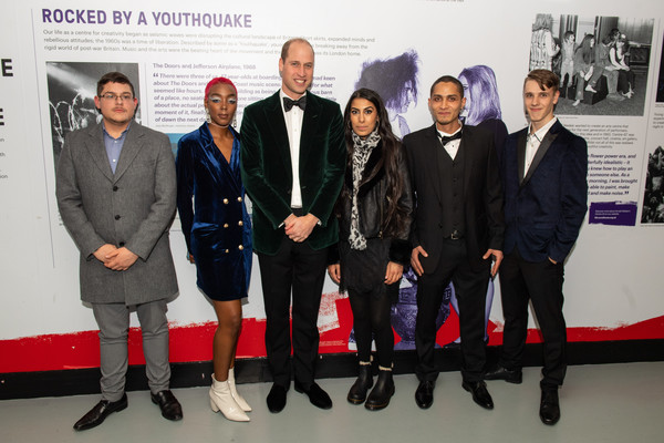 HRH The Duke Of Cambridge Marks Centrepoint's 50th At Anniversary Gala