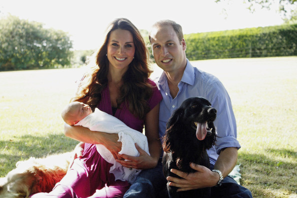 Prince William - Official Portraits of Kate, Will, and Baby Prince George