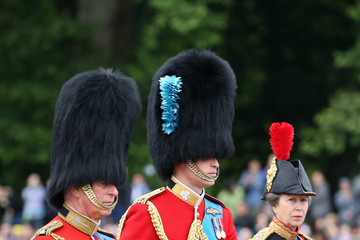 Prince William Prince Charles Trooping The Colour