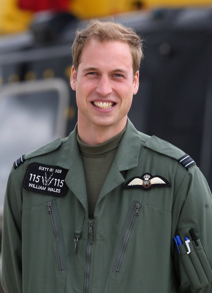 Prince William And Prince Harry Visit Raf Shawbury 1 Of 42