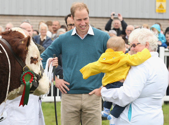 Prince William - Prince William Visits the Anglesey Show
