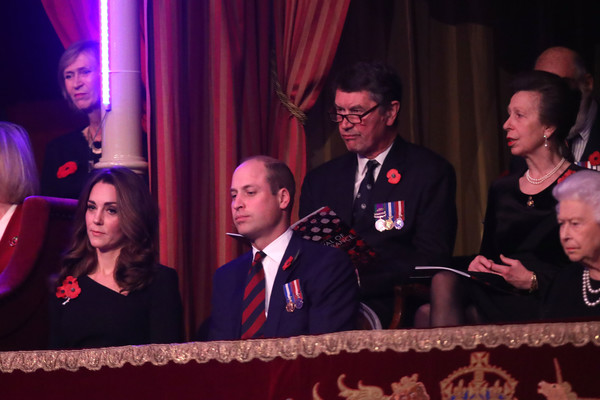 The Royal Family Attend The Festival Of Remembrance