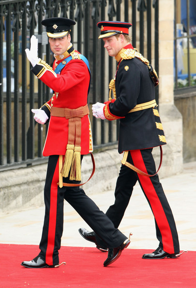 Prince William - Royal Wedding Arrivals
