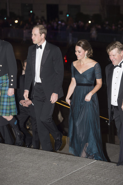 St. Andrews 600th anniversary dinner - Prince William and