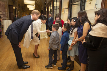 """Prince William The Duke And Duchess Of Sussex Attend A Gala Performance Of """"The Wider Earth"""""""