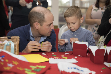 Prince William The Duke And Duchess Of Cambridge Host A Christmas Party For Families Of Military Personnel Deployed In Cyprus