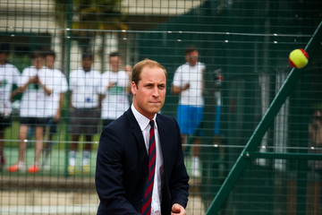 Prince William Prince William Visits War Memorial Park