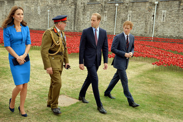 Prince William British Royals Visit the Tower of London — Part 2