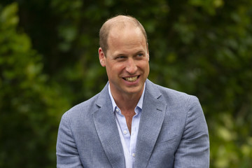 Prince William Duke of Cambridge Hosts Outdoor Screening Of The FA Cup Final