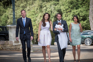 Princess Alexandra Christening Of Princess Amalia Of Luxembourg In Lorgues