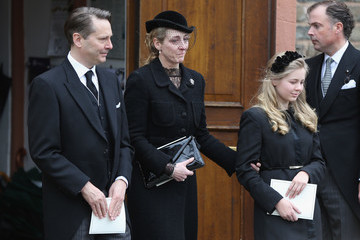 Princess Alexandra Prince Richard Funeral Service in Bad Berleburg