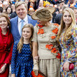 Princess Amalia The Dutch Royal Family Attend King's Day In Amersfoort