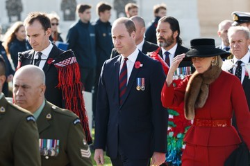 Princess Astrid The Duke of Cambridge Attends New Zealand National Commemoration for the Battle of Passchendaele
