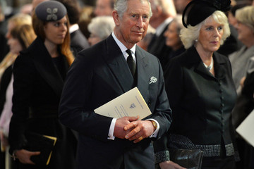 Princess Beatrice Memorial Service Held for David Frost