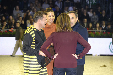 Princess Caroline Gucci Paris Masters 2013 : Day 3