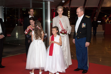 Princess Caroline Monaco National Day 2017