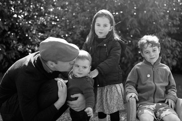 Princess Charlotte The Duke And Duchess of Cambridge Release Christmas Card
