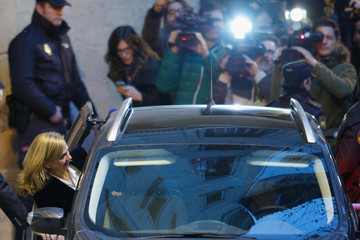 Princess Cristina Hearing of Princess Cristina Of Spain in Noos Case in Palma de Mallorca