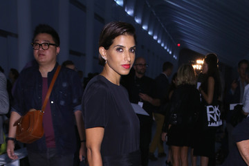 Princess Deena Al-Juhani Abdulaziz DKNY Women's - Front Row - Spring 2016 New York Fashion Week: The Shows