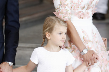 Princess Estelle of Sweden The Crown Princess Victoria of Sweden's 40th birthday Celebrations in Stockholm