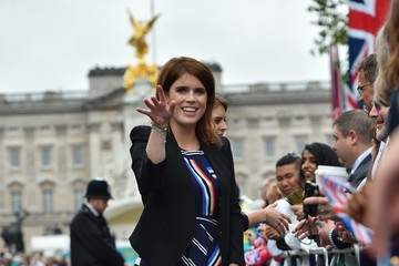 Princess Eugenie The Patron's Lunch to Celebrate the Queen's 90th Birthday