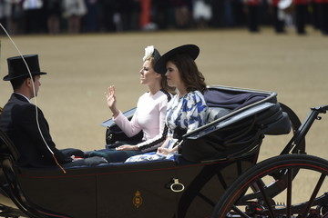 Princess Eugenie Jack Brooksbank Trooping The Colour 2019
