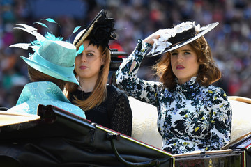 Princess Eugenie Princess Beatrice Royal Ascot 2018 - Day 3