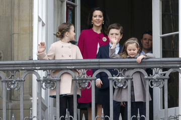 Princess Isabella Princess Mary Queen Margrethe II of Denmark and Family Celebrate Her Majesty's 76th Birthday