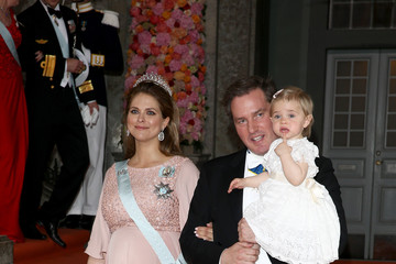 Princess Leonore of Sweden Departures & Cortege: Wedding of Prince Carl Philip and Princess Sofia of Sweden
