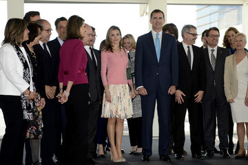 Princess Letizia Puig Headquarters Inauguration