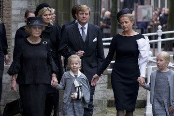 Princess Mabel Prince Friso of The Netherlands Memorial Service