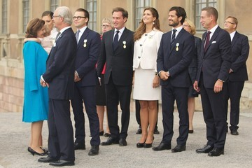 Princess Madeleine King Carl Gustaf's 40th Jubilee - City Of Stockholm Celebrations