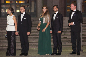 Princess Madeleine Swedish Riksdag's Jubilee Concert To Celebrate King Carl Gustaf's 40th Jubilee