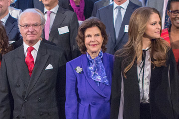 Princess Madeleine Swedish Royals Attend Global Child Forum