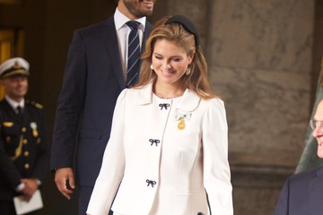 Princess Madeleine Te Deum Thanksgiving Service To Celebrate King Carl Gustaf's 40th Jubilee