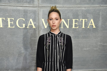 Princess Maria-Olympia Bottega Veneta Fall Winter 2018 Fashion Show in NY