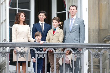 Princess Marie Queen Margrethe II of Denmark and Family Celebrate Her Majesty's 76th Birthday