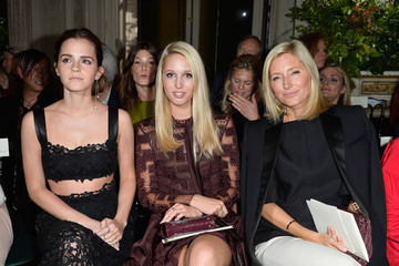 Princess Marie Chantal Front Row at Valentino