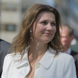 Princess Martha Louise Norwegian Royal Family Attends The Unveiling Of A Statue Of King Olav V in Oslo
