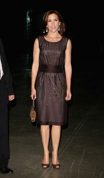 Princess Mary Princess Mary of Denmark attends a private view of a major retrospective exhibition by Danish artist Per Kirkeby at Tate Modern on June 16, 2009 in London, England.