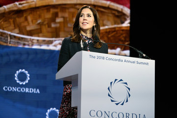 Princess Mary The 2018 Concordia Annual Summit - Day 1