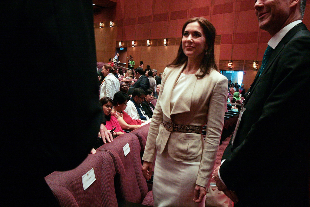 Princess Mary - Women Deliver Conference 2013 - Day 1