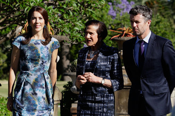 Princess Mary Prince Frederick and Princess Mary Visit Denmark