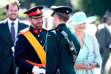 Princess Stephanie The Sovereign's Parade At Sandhurst