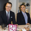 Princess Victoria Swedish Royals Visit The Crime Prevention Council