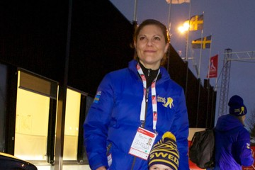 Princess Victoria Swedish Royals Attend World Ski Championships
