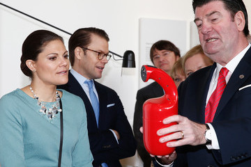 Princess Victoria Swedish Royals Visit North Rhine-Westphalia
