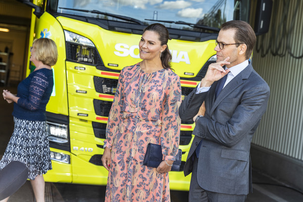 Swedish Royals Visit The Ambulance Service In The Stockholm Region [motor vehicle,yellow,transport,mode of transport,vehicle,commercial vehicle,public transport,car,job,tourism,motor vehicle,royals,victoria,daniel,ambulance service,transport,yellow,stockholm region,swedish,ambulance station,car,motor vehicle,yellow,product]