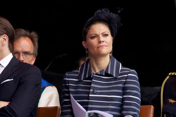 Princess Victoria Swedish Royals Attend Celebrations To Mark the 1,000th Anniversary of Skara Diocese